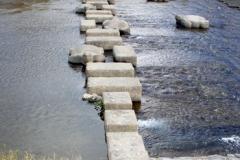 亀の橋西側