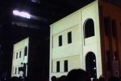プロジェクトマッピング/京都国際マンガミュージアム
