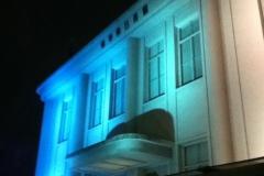 日仏会館のライトアップ