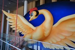 マンガミュージアムのシンボル