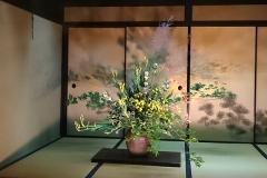 生け花と襖絵が粋でした