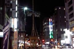 こちらも四条通りに並ぶ月鉾