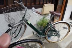 「京都ちりんちりん」のレンタル自転車