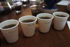 4種類のコーヒー
