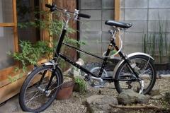 コンパクトな乗りやすい自転車