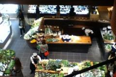 1階の野菜売り場
