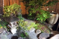 知人のお宅の素敵な坪庭