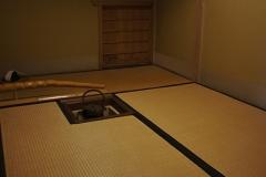 三畳のとってもシンプルな茶室