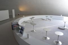 豊島美術館のカフェとショップ