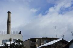 船岡温泉の煙突