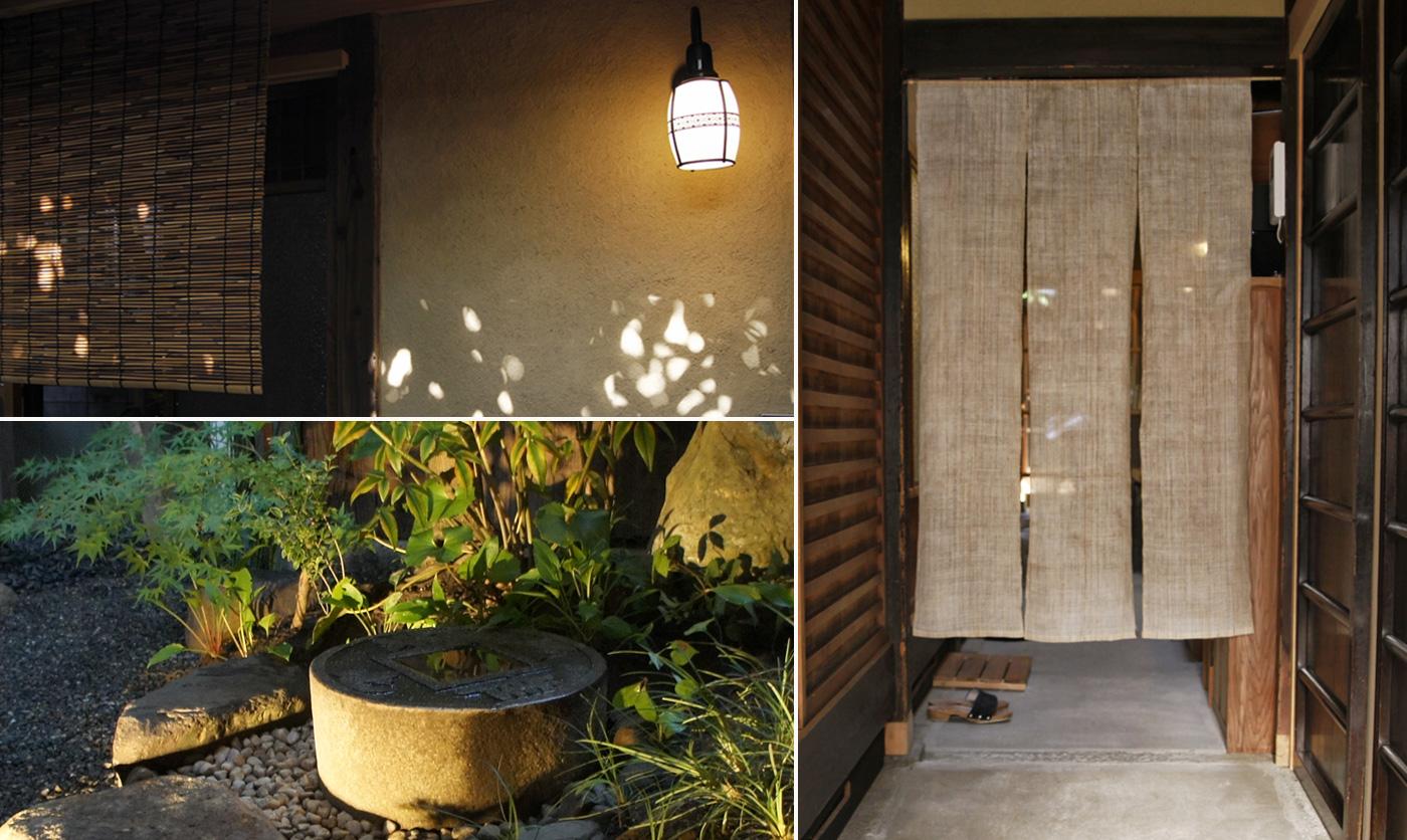 土間とお庭の様子 Entrance and Garden