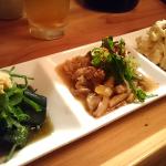 | まるまつ | Marumatsu おばんざいの3種盛り合わせ