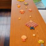 | UCHU和菓子 |Uchu Wagashiこのポップ感がたまらない