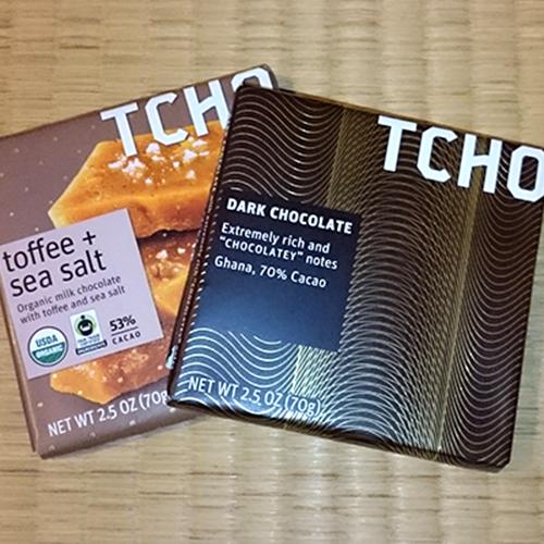 アメリカからのおみやげ/Pretty package of chocolates from the US