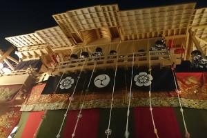 大船鉾のお囃子